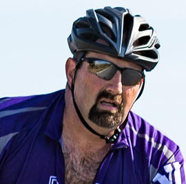 Keith Kaplan, Co-Survivor Rider